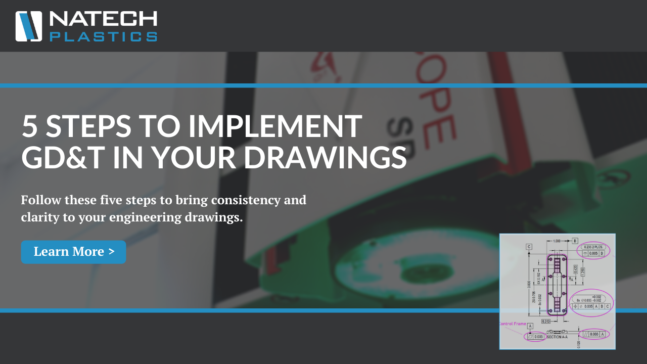 5 Steps to Implementing GD&T in Your Part Drawings